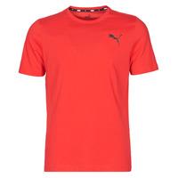 Oblečenie Muži Tričká s krátkym rukávom Puma ESS TEE Červená