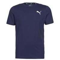 Oblečenie Muži Tričká s krátkym rukávom Puma ESS TEE Námornícka modrá