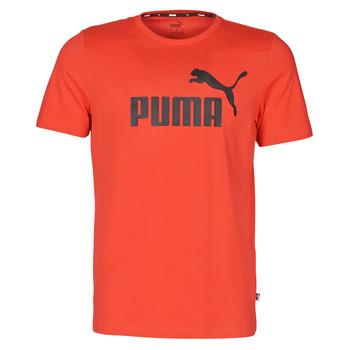 Oblečenie Muži Tričká s krátkym rukávom Puma ESSENTIAL TEE Červená