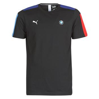 Oblečenie Muži Tričká s krátkym rukávom Puma BMW MMS T7 Tee Čierna