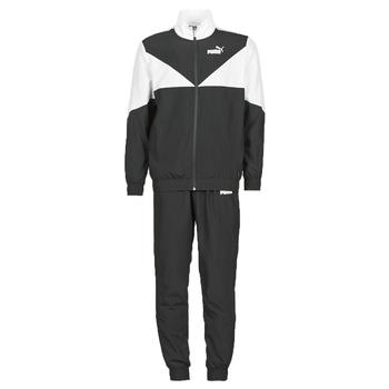 Oblečenie Muži Súpravy vrchného oblečenia Puma Woven Suit CL Čierna / Biela