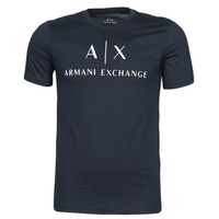 Oblečenie Muži Tričká s krátkym rukávom Armani Exchange 8NZTCJ-Z8H4Z Námornícka modrá