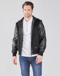 Oblečenie Muži Bundy  Armani Exchange 3KZB03-ZE1AZ Čierna