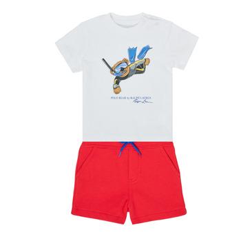 Oblečenie Chlapci Komplety a súpravy Polo Ralph Lauren SOULA Viacfarebná