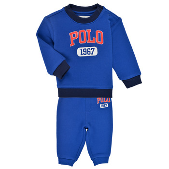 Oblečenie Chlapci Komplety a súpravy Polo Ralph Lauren NOELLE Modrá