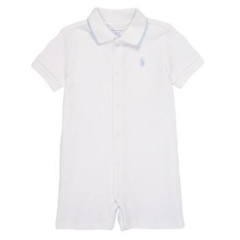 Oblečenie Chlapci Módne overaly Polo Ralph Lauren TONNY Biela