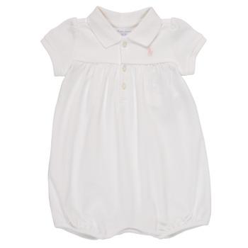 Oblečenie Dievčatá Módne overaly Polo Ralph Lauren SIMONE Biela