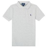 Oblečenie Chlapci Polokošele s krátkym rukávom Polo Ralph Lauren MENCHI Šedá