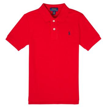 Oblečenie Chlapci Polokošele s krátkym rukávom Polo Ralph Lauren MENCHI Červená
