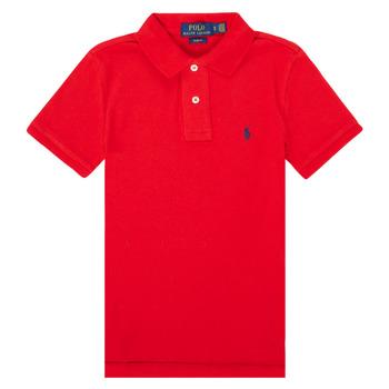Oblečenie Dievčatá Polokošele s krátkym rukávom Polo Ralph Lauren FRANCHI Červená