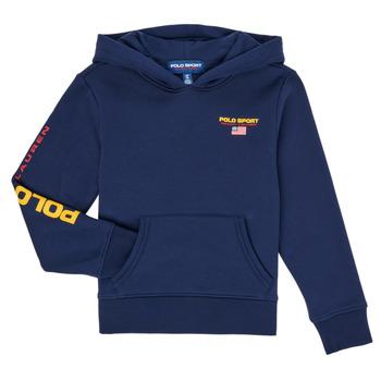 Oblečenie Chlapci Mikiny Polo Ralph Lauren AMELIA Námornícka modrá