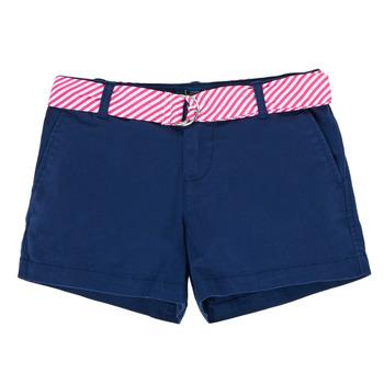 Oblečenie Dievčatá Šortky a bermudy Polo Ralph Lauren FILLI Námornícka modrá