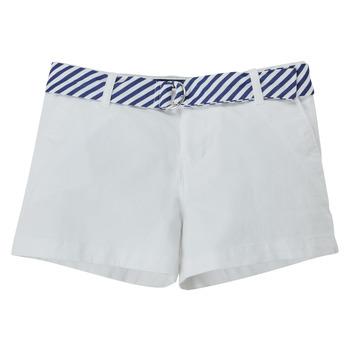 Oblečenie Dievčatá Šortky a bermudy Polo Ralph Lauren FILLI Biela