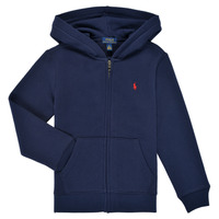 Oblečenie Chlapci Mikiny Polo Ralph Lauren SIDOINE Námornícka modrá