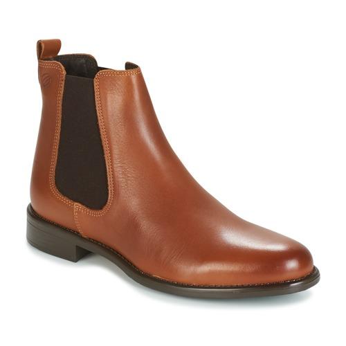 Topánky Ženy Polokozačky Betty London NORA Ťavia hnedá