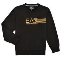 Oblečenie Chlapci Mikiny Emporio Armani EA7 3KBM55-BJ05Z-1200 Čierna