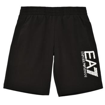 Oblečenie Chlapci Šortky a bermudy Emporio Armani EA7 3KBS52-BJ05Z-1200 Čierna