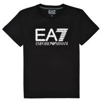 Oblečenie Chlapci Tričká s krátkym rukávom Emporio Armani EA7 3KBT53-BJ02Z-1200 Čierna