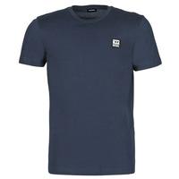 Oblečenie Muži Tričká s krátkym rukávom Diesel A00356-0AAXJ-81E Námornícka modrá