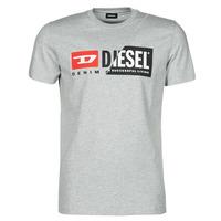 Oblečenie Muži Tričká s krátkym rukávom Diesel 00SDP1-0091A-912 Šedá