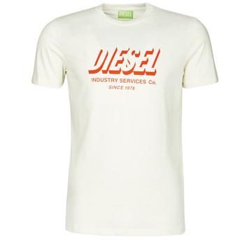 Oblečenie Muži Tričká s krátkym rukávom Diesel A01849-0GRAM-129 Biela
