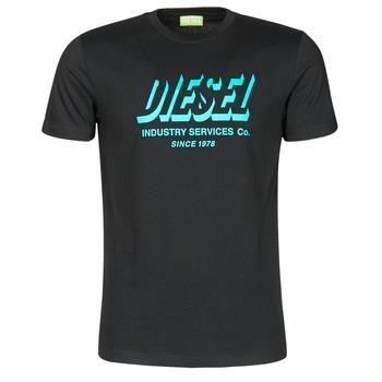 Oblečenie Muži Tričká s krátkym rukávom Diesel A01849-0GRAM-9XX Čierna
