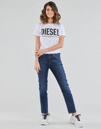 Oblečenie Ženy Rovné Rifle  Diesel D-JOY Modrá / Medium