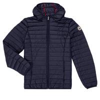 Oblečenie Chlapci Vyteplené bundy JOTT HUGO Námornícka modrá