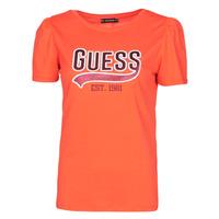 Oblečenie Ženy Tričká s krátkym rukávom Guess SS CN MARISOL TEE Červená