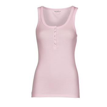 Oblečenie Ženy Tielka a tričká bez rukávov Guess MILENA TANK TOP Ružová