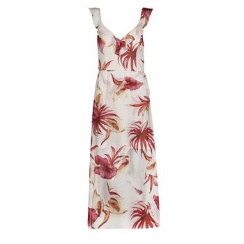 Oblečenie Ženy Dlhé šaty Guess CORA DRESS Viacfarebná / Biela