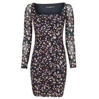 Oblečenie Ženy Krátke šaty Guess GAYLE DRESS Čierna / Leo