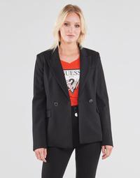 Oblečenie Ženy Saká a blejzre Guess MICAELA BLAZER Čierna