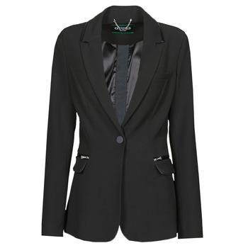 Oblečenie Ženy Saká a blejzre Guess SELENE BLAZER Čierna