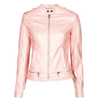 Oblečenie Ženy Kožené bundy a syntetické bundy Guess NEW TAMMY JACKET Ružová