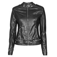 Oblečenie Ženy Kožené bundy a syntetické bundy Guess NEW TAMMY JACKET Čierna