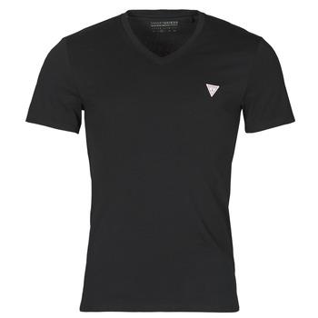 Oblečenie Muži Tričká s krátkym rukávom Guess VN SS CORE TEE Čierna