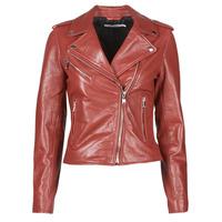 Oblečenie Ženy Kožené bundy a syntetické bundy Naf Naf CHACHA P Červená