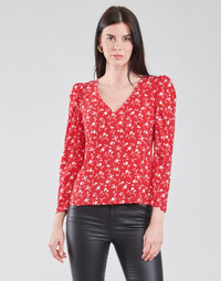 Oblečenie Ženy Blúzky Naf Naf COLINE C1 Červená