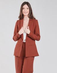 Oblečenie Ženy Saká a blejzre Naf Naf LINONOU V2 Terakotová