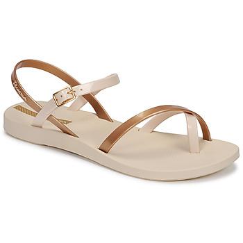Topánky Ženy Sandále Ipanema Ipanema Fashion Sandal VIII Fem Béžová / Zlatá