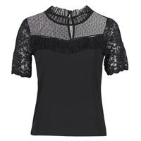 Oblečenie Ženy Tričká s krátkym rukávom Morgan DANY Čierna