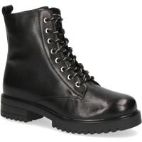Topánky Ženy Čižmičky Caprice Booties Low Heels Black Black