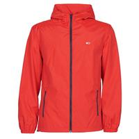 Oblečenie Muži Vetrovky a bundy Windstopper Tommy Jeans TJM PACKABLE WINDBREAKER Červená