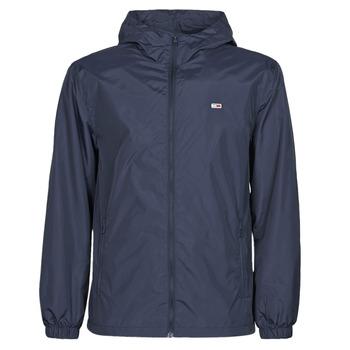 Oblečenie Muži Vetrovky a bundy Windstopper Tommy Jeans TJM PACKABLE WINDBREAKER Námornícka modrá