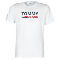 Oblečenie Muži Tričká s krátkym rukávom Tommy Jeans TJM CORP LOGO TEE Biela