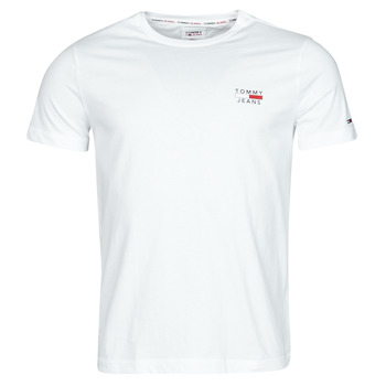 Oblečenie Muži Tričká s krátkym rukávom Tommy Jeans TJM CHEST LOGO TEE Biela