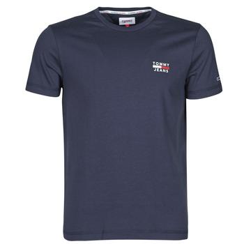 Oblečenie Muži Tričká s krátkym rukávom Tommy Jeans TJM CHEST LOGO TEE Námornícka modrá