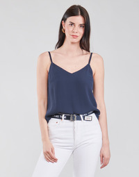 Oblečenie Ženy Blúzky Tommy Jeans TJW CAMI TOP Námornícka modrá