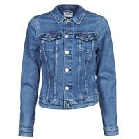 Oblečenie Ženy Džínsové bundy Tommy Jeans VIVIANNE SLIM DENIM TRUCKER NMBS Modrá / Medium